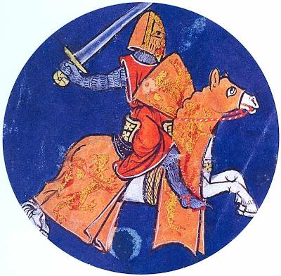Nobre cavaleiro medieval