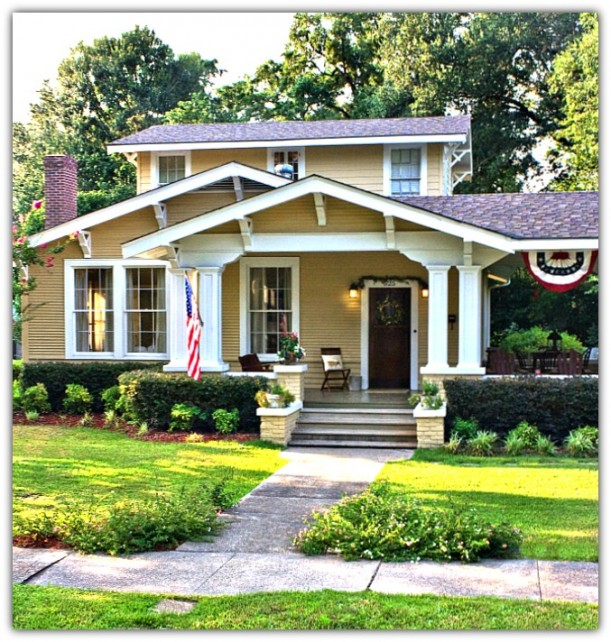 Sonialillian 1920 39 s mississippi cottage for Home builders in south mississippi