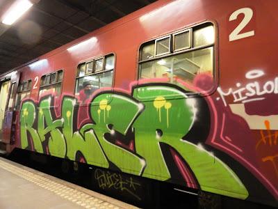 raler graffiti train