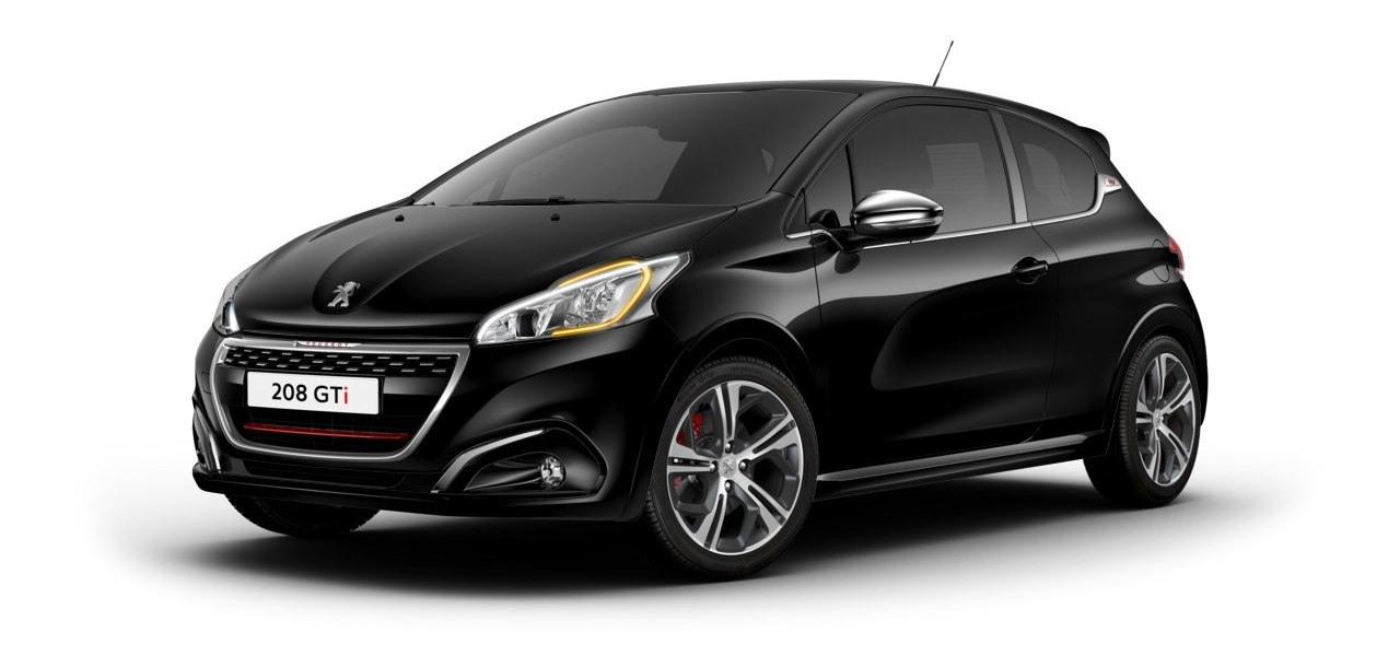 peugeot 208 gti restyl e 2018 couleurs colors. Black Bedroom Furniture Sets. Home Design Ideas
