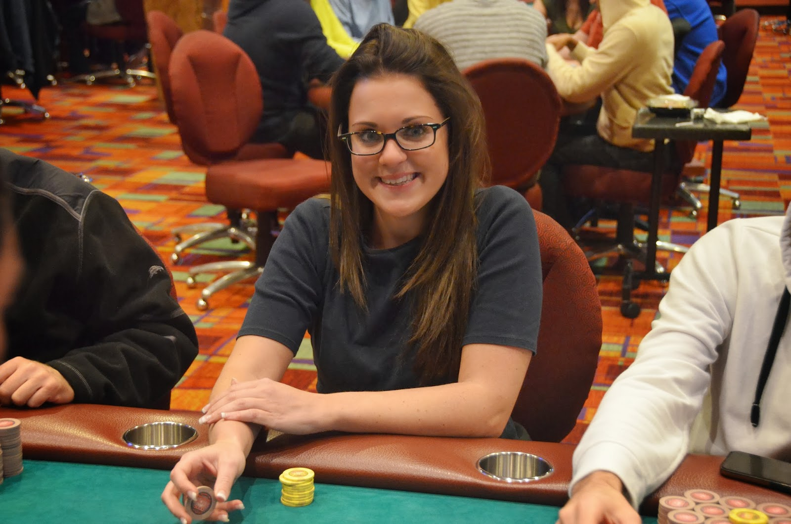 Parx big stax iv big stax 1000 day 3 hubbard arrives for Parx poker room live game report