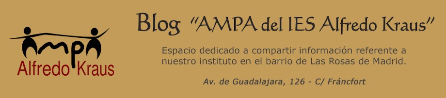 Blog AMPA del IES Alfredo Kraus