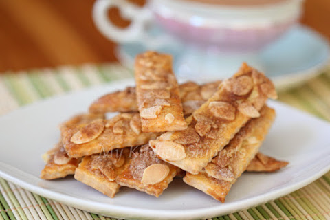 Almond Cinnamon Stick Cookies