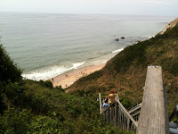 Block Island Beach Stairs