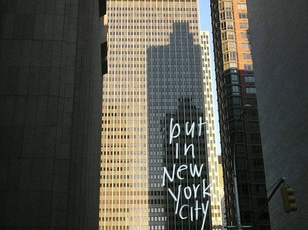 financial district, shadows