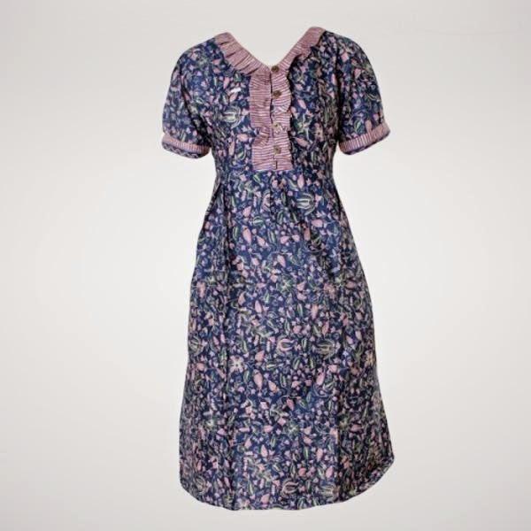 Baju Ibu Hamil Batik Kerja Dress