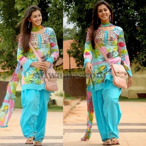 Nikki Galrani Printed Salwar