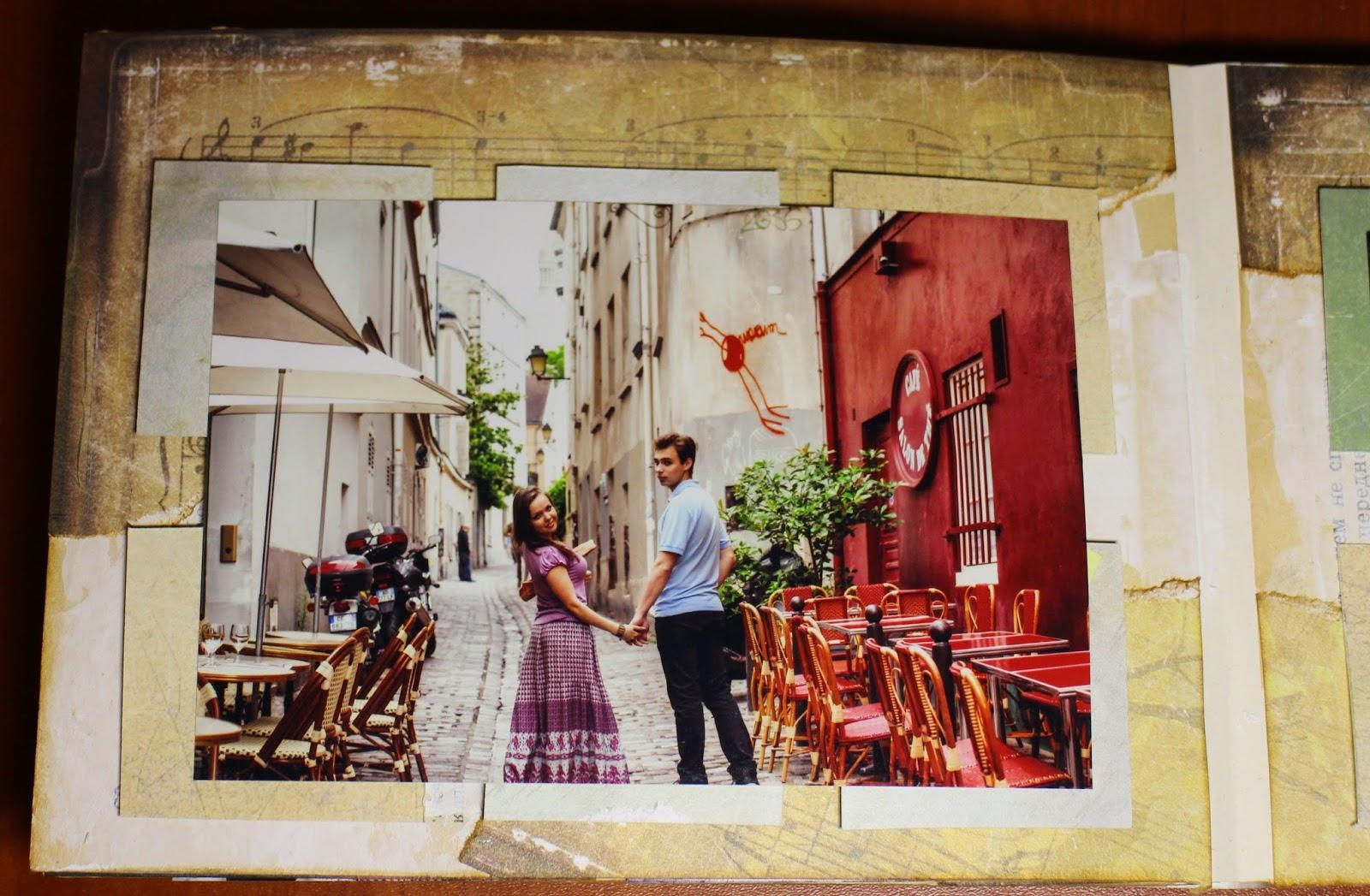Универсальный альбом Париж Love Story