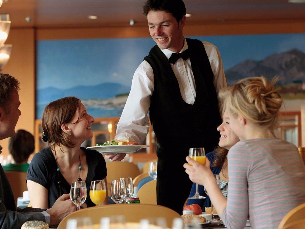 GALLERY Waiters Taking Orders  Waiter Taking Order