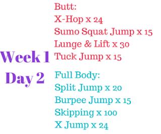 self magazine 30 day fitness challenge