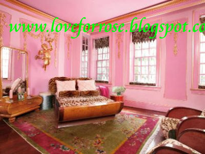 tradersreport: Luxury pink and gold bedroom design