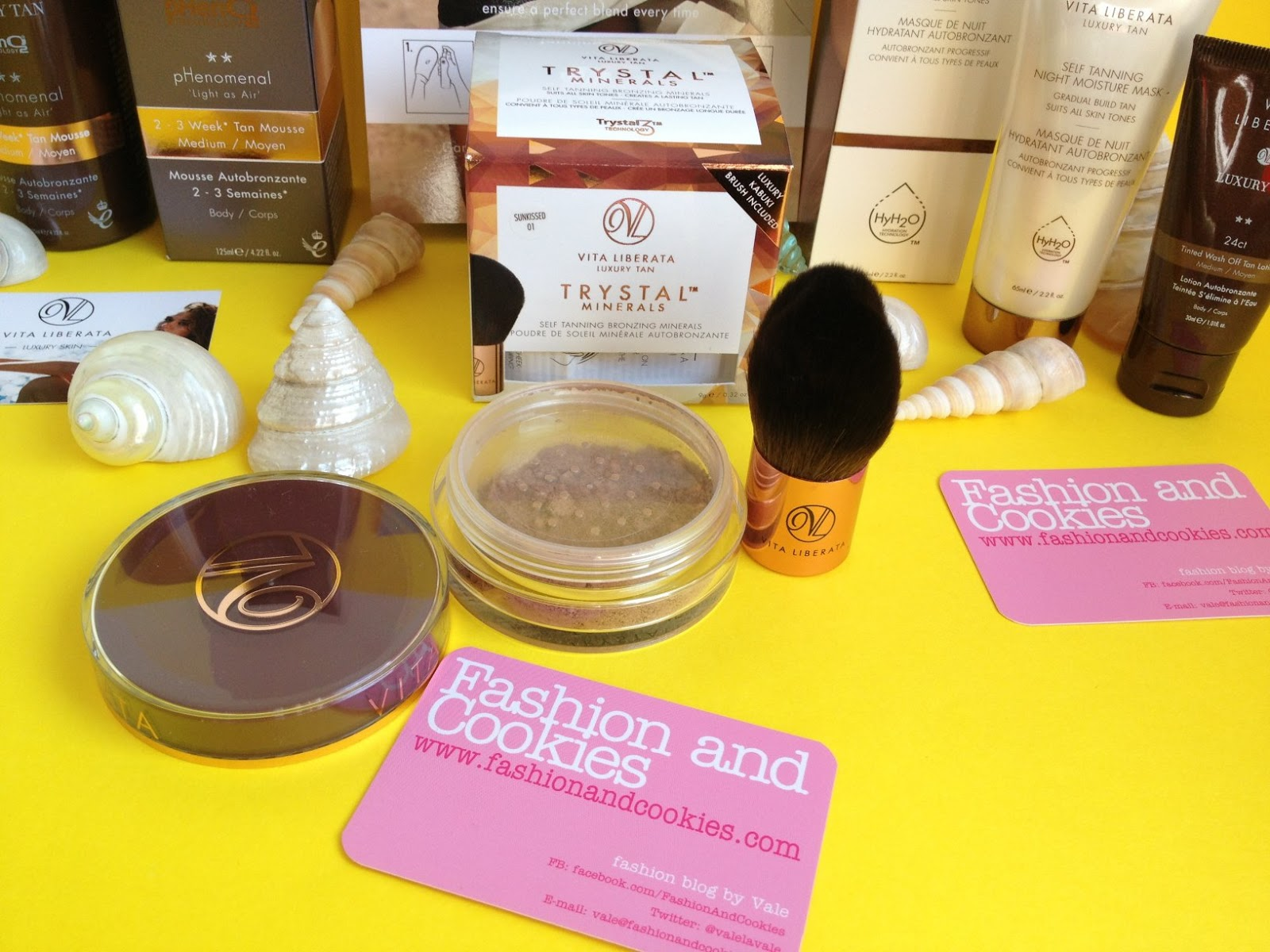 Trystal Minerals Luxury Tan Vita Liberata: how to get a tan quickly and safely on Fashion and Cookies fashion blog