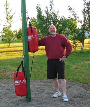 Get Yourself Some Portable Boxing Punching Bags So You Can Practice While Camping Or On Road Trips