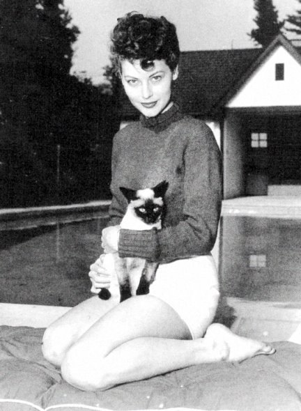 Lisa Papineau Actresses With Cats