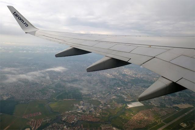 Sobrevolando Bucarest