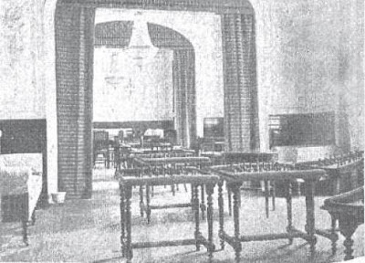 Sala de ajedrez del Casino de Madrid en 1910