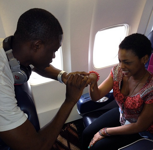 Photo ; Vector proposes to Chidinma