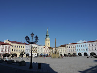 Main square of Novy Jicin