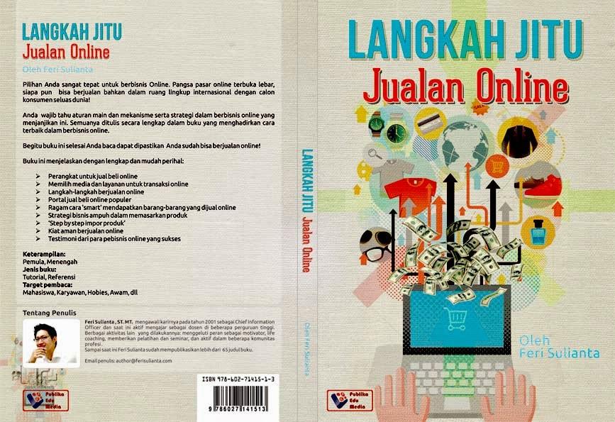 Cover Langkah Jitu Jualan Online - Feri Sulianta