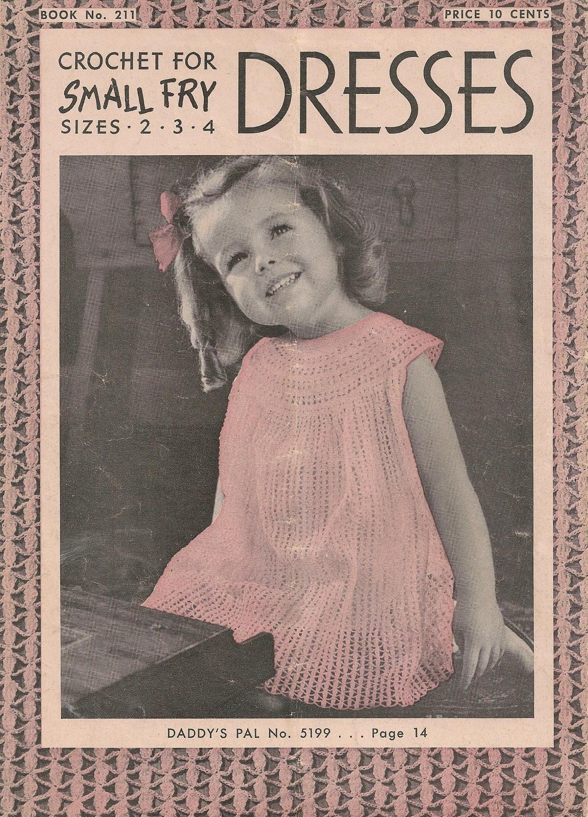 Sentimental Baby Little Girls Dress Crochet Pattern