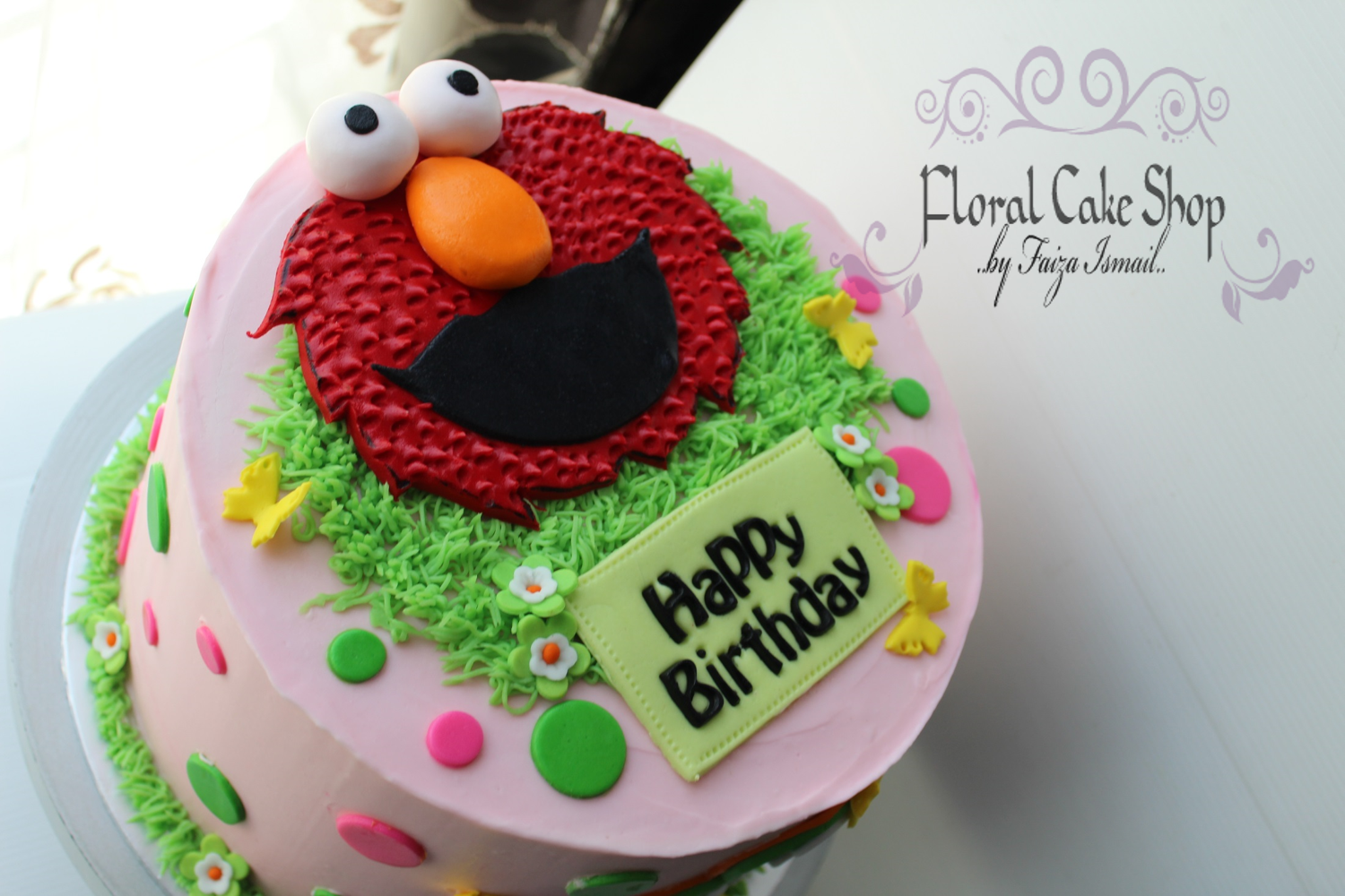 Floral Cake Shop: Elmo: Red Velvet