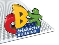 Character building logo