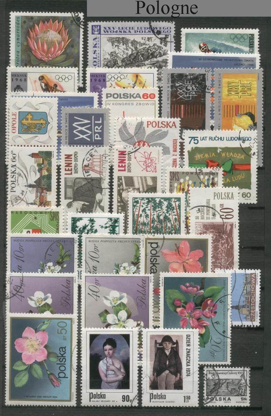 ma collection et plus encore ma collection de timbres poste pologne. Black Bedroom Furniture Sets. Home Design Ideas