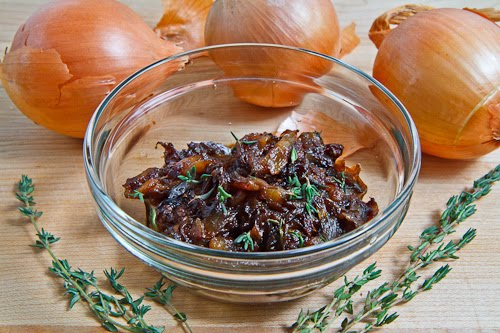 Onion Marmalade (or Balsamic Caramelized Onions)