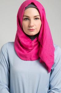 Model Jilbab Yang Cocok Dengan Wajah Bulat