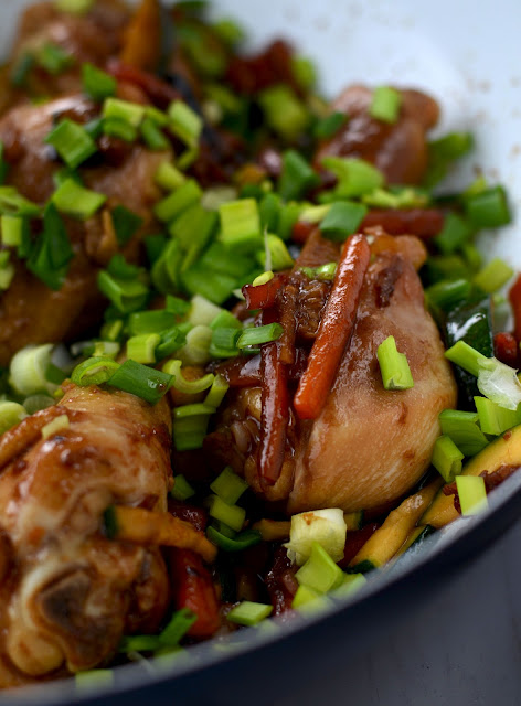 kurczak glazurowany z sosem sojowym, kurczak po azjatycku, przepis