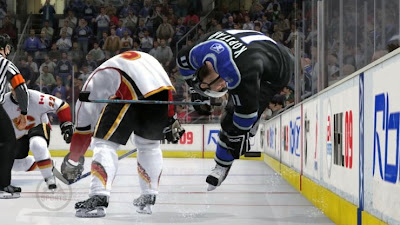 NHL 09 Screenshots 2