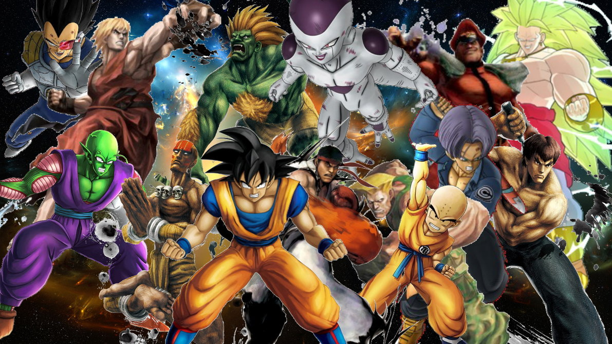 dbz vs street fighter - photo #3