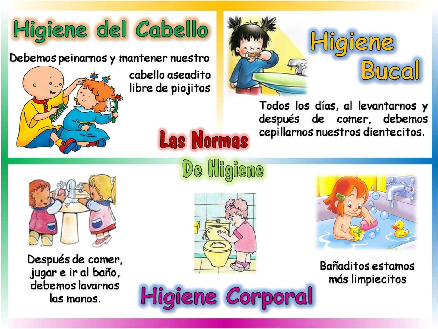 Las normas de higiene la higiene personal for Normas de higiene personal en la cocina