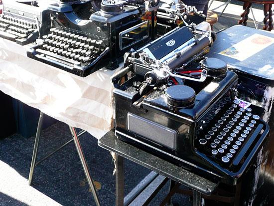 Rose Bowl flea market vintage typewriter by Lady by Choice