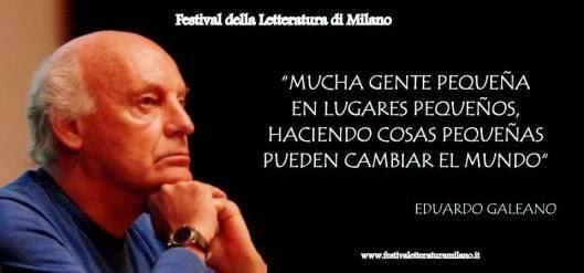 Eduardo Hughes Galeano Frases Frase de Eduardo Galeano