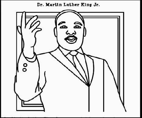 coloring pages for martin luther king jr. martin luther king jr, coloring pages
