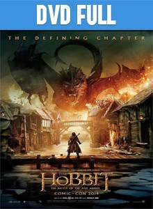 El Hobbit 3 La Batalla De Los Cinco Ejércitos DVD Full Latino 2014