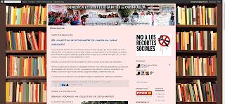 Página Sindicato de Estudiantes de Orihuela ¡En lucha!