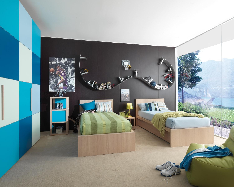 Dormitorios para adolescentes color azul ideas para - Disenar dormitorio juvenil ...