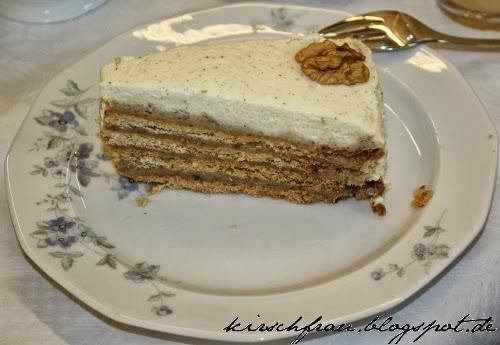 kirschfrau liebe die man schmeckt walnu schmand torte. Black Bedroom Furniture Sets. Home Design Ideas