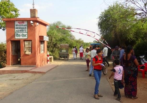 keoladeo parc national bharatpur oiseau entree inde