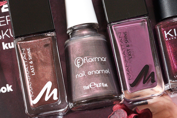 Fall 2015: My Favorite Five Nail Polishes