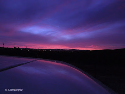 September 27 Sunset with Refection, © B. Radisavljevic