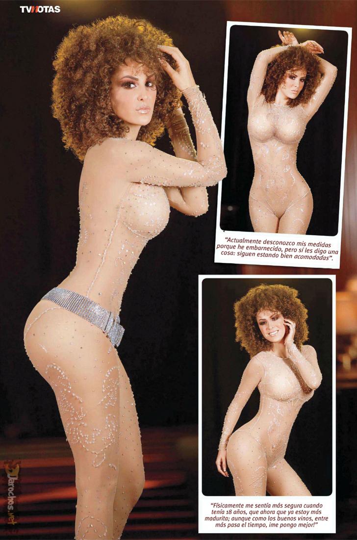 ninel conde tvnotas magazine juny 2012