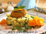 Cícerové fašírky s kapustovými zemiakmi - recept
