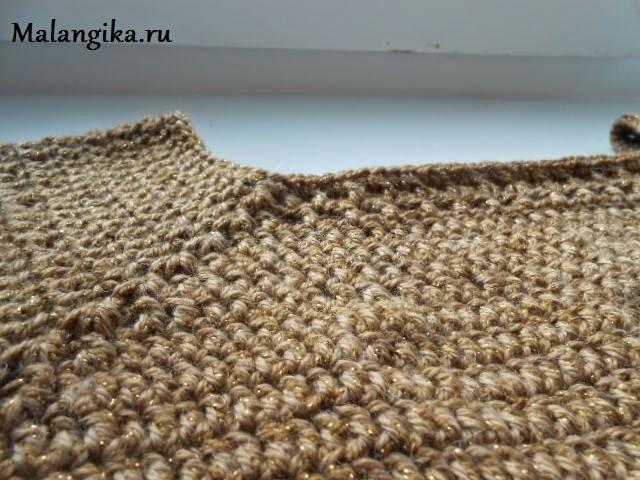 вязание кокетки
