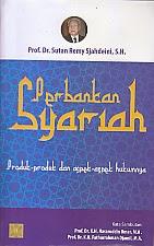 toko buku rahma: buku PERBANKAN SYARIAH, pengarang sutan remy sjahdeini, penerbit kencana
