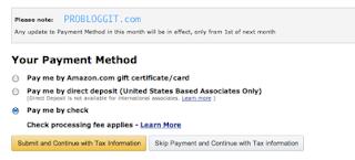 Cara Mendaftar atau Menghasilkan Uang Melalui Program Amazon di Blogger