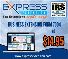 IRS Form 7004: Automatic Extension for Business Tax