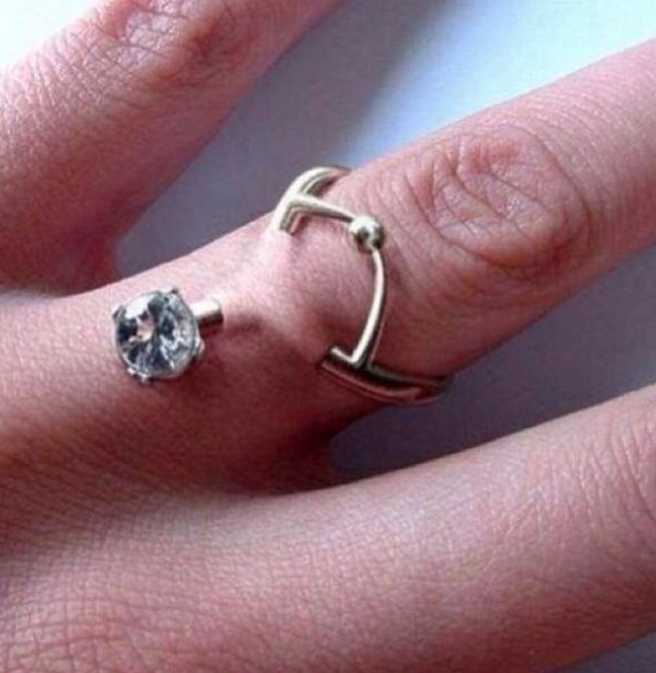 do you want to be married until they can pry the ring off of your cold dead hand - Creative Wedding Rings